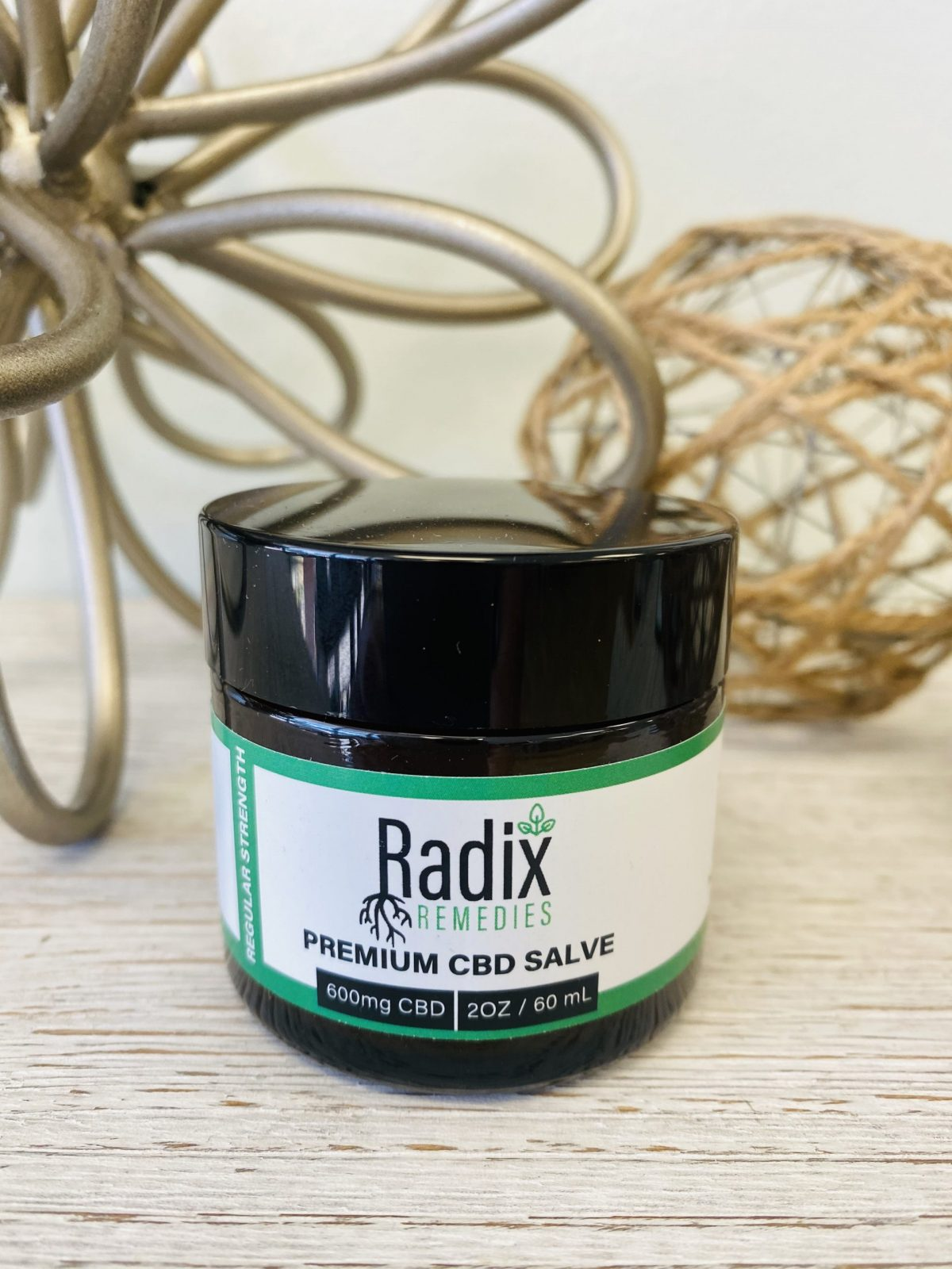 Radix 600mg CBD Pain Salve 2 oz